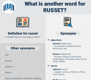russet, synonym russet, another word for russet, words like russet, thesaurus russet