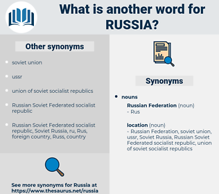 russia, synonym russia, another word for russia, words like russia, thesaurus russia