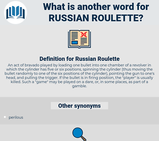 Roulette synonym in english translation