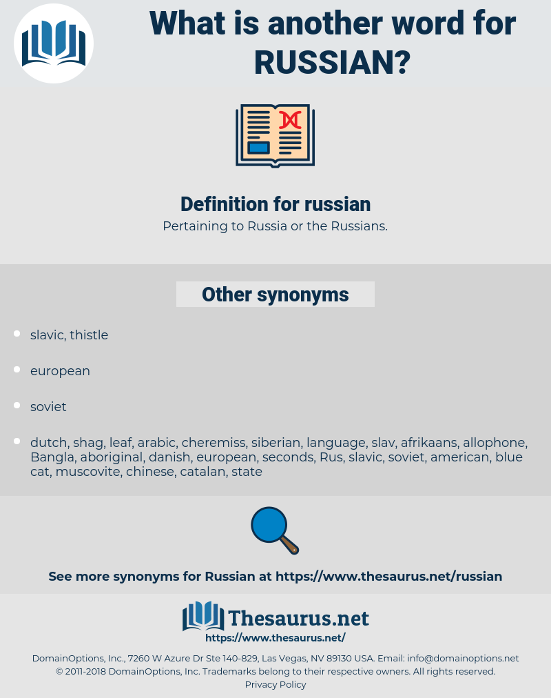 russian, synonym russian, another word for russian, words like russian, thesaurus russian
