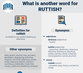 ruttish, synonym ruttish, another word for ruttish, words like ruttish, thesaurus ruttish