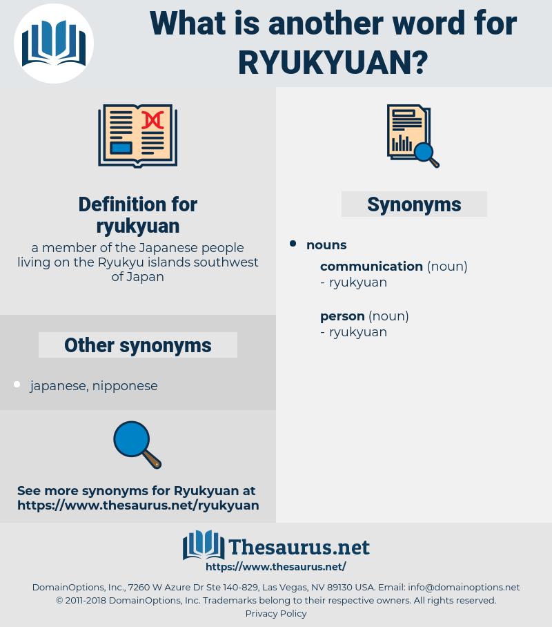 ryukyuan, synonym ryukyuan, another word for ryukyuan, words like ryukyuan, thesaurus ryukyuan
