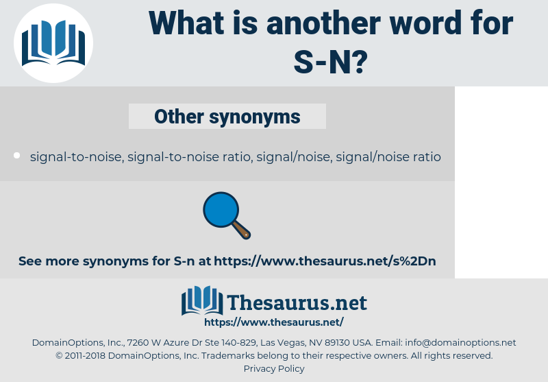 S-N, synonym S-N, another word for S-N, words like S-N, thesaurus S-N
