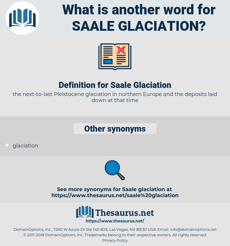Saale Glaciation, synonym Saale Glaciation, another word for Saale Glaciation, words like Saale Glaciation, thesaurus Saale Glaciation
