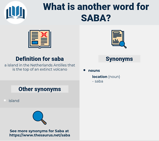 saba, synonym saba, another word for saba, words like saba, thesaurus saba