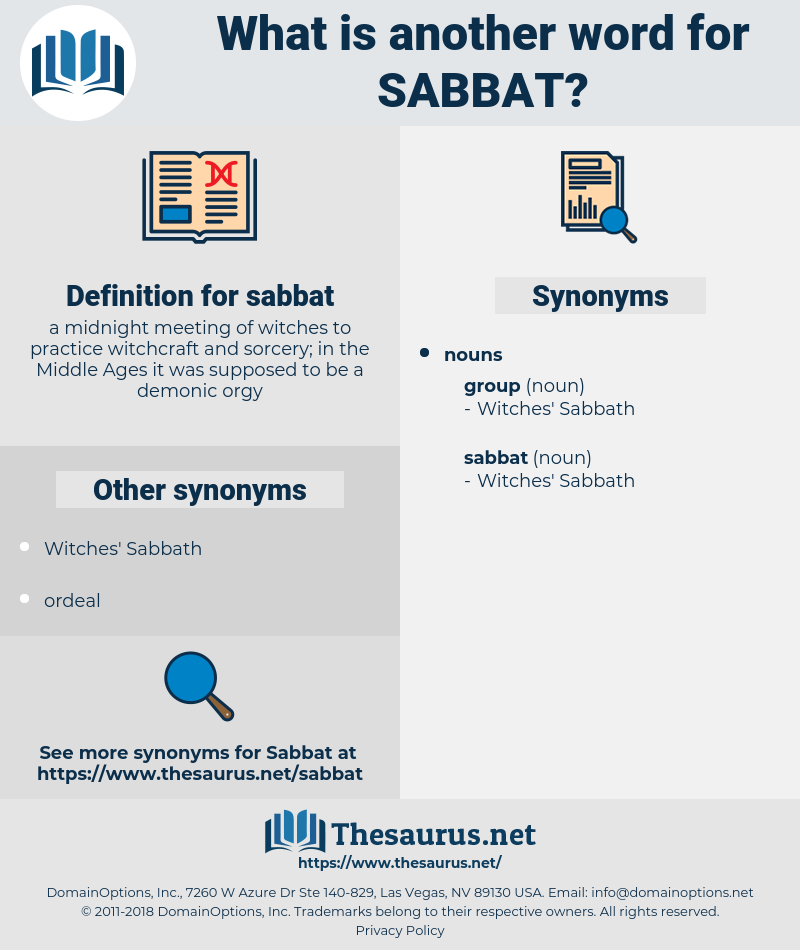 sabbat, synonym sabbat, another word for sabbat, words like sabbat, thesaurus sabbat