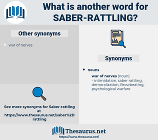 saber rattling, synonym saber rattling, another word for saber rattling, words like saber rattling, thesaurus saber rattling
