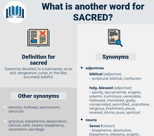 sacred, synonym sacred, another word for sacred, words like sacred, thesaurus sacred