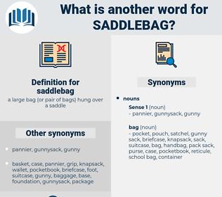 saddlebag, synonym saddlebag, another word for saddlebag, words like saddlebag, thesaurus saddlebag
