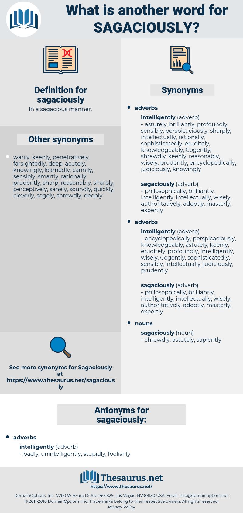 sagaciously, synonym sagaciously, another word for sagaciously, words like sagaciously, thesaurus sagaciously