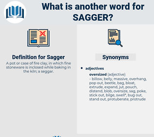 Sagger, synonym Sagger, another word for Sagger, words like Sagger, thesaurus Sagger