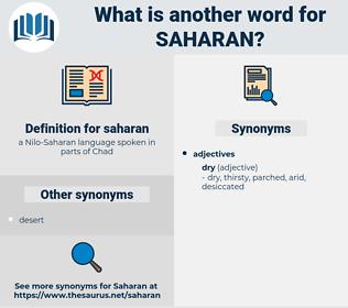 saharan, synonym saharan, another word for saharan, words like saharan, thesaurus saharan