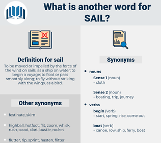 sail, synonym sail, another word for sail, words like sail, thesaurus sail