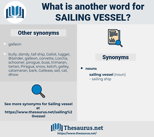 sailing vessel, synonym sailing vessel, another word for sailing vessel, words like sailing vessel, thesaurus sailing vessel