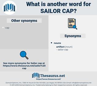 sailor cap, synonym sailor cap, another word for sailor cap, words like sailor cap, thesaurus sailor cap