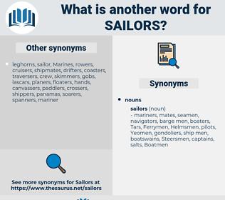 Sailors, synonym Sailors, another word for Sailors, words like Sailors, thesaurus Sailors