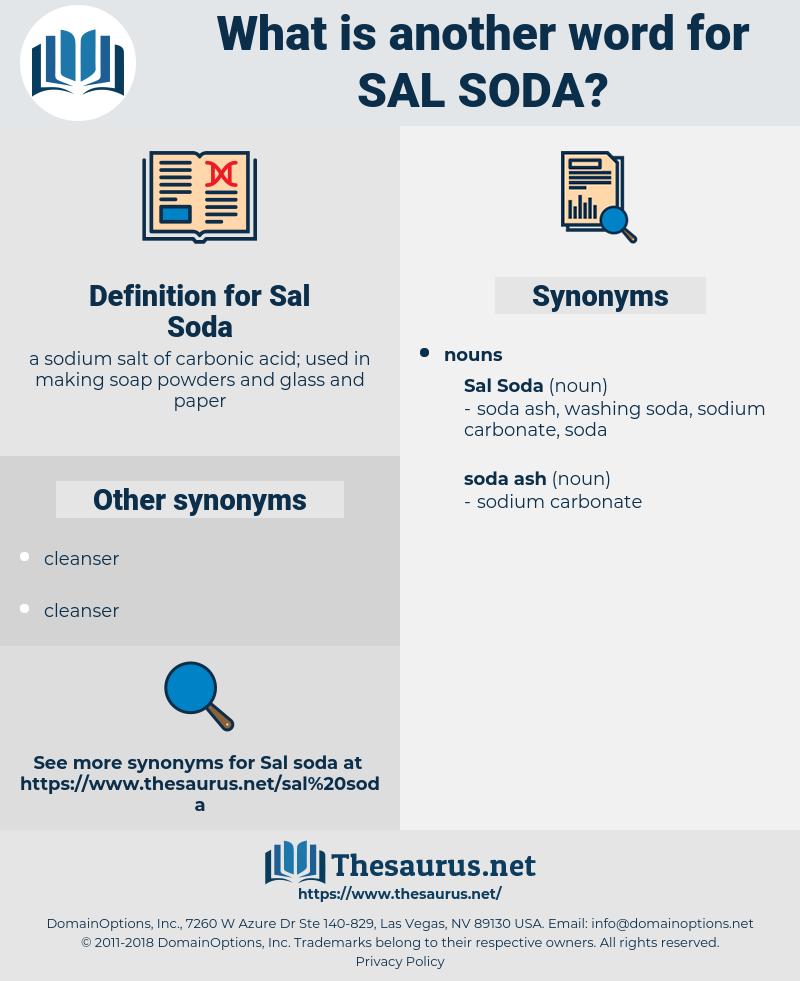 Sal Soda, synonym Sal Soda, another word for Sal Soda, words like Sal Soda, thesaurus Sal Soda