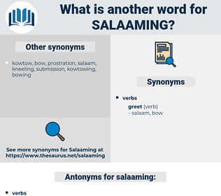 salaaming, synonym salaaming, another word for salaaming, words like salaaming, thesaurus salaaming