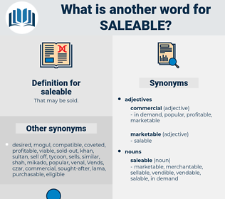 saleable, synonym saleable, another word for saleable, words like saleable, thesaurus saleable
