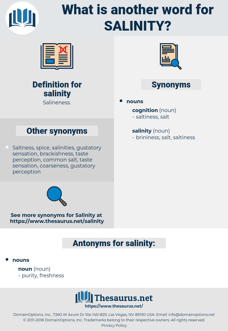 salinity, synonym salinity, another word for salinity, words like salinity, thesaurus salinity