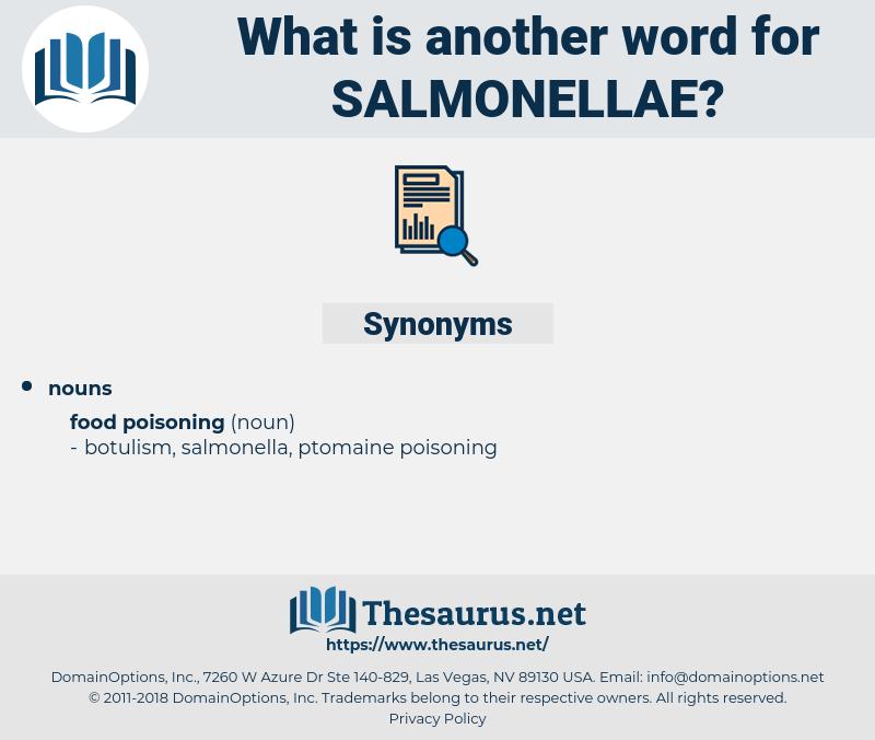 salmonellae, synonym salmonellae, another word for salmonellae, words like salmonellae, thesaurus salmonellae