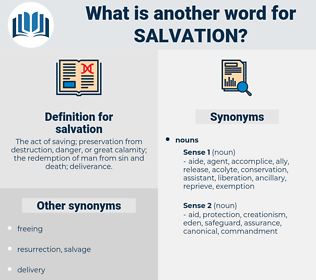 salvation, synonym salvation, another word for salvation, words like salvation, thesaurus salvation