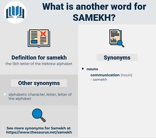 samekh, synonym samekh, another word for samekh, words like samekh, thesaurus samekh
