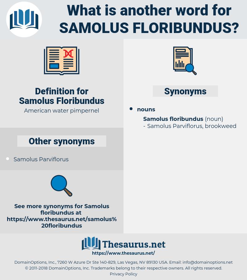 Samolus Floribundus, synonym Samolus Floribundus, another word for Samolus Floribundus, words like Samolus Floribundus, thesaurus Samolus Floribundus