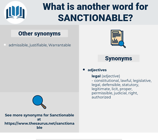sanctionable, synonym sanctionable, another word for sanctionable, words like sanctionable, thesaurus sanctionable