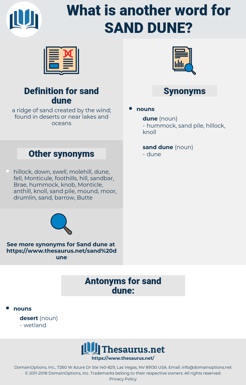 sand dune, synonym sand dune, another word for sand dune, words like sand dune, thesaurus sand dune