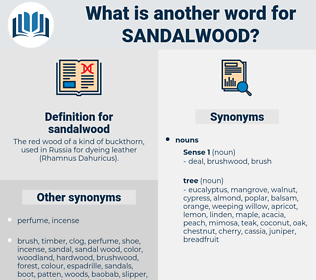 sandalwood, synonym sandalwood, another word for sandalwood, words like sandalwood, thesaurus sandalwood
