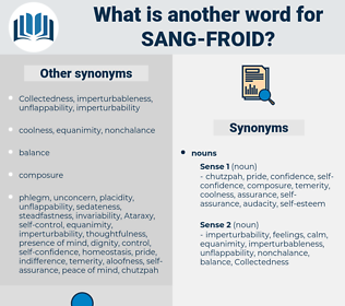 sang-froid, synonym sang-froid, another word for sang-froid, words like sang-froid, thesaurus sang-froid