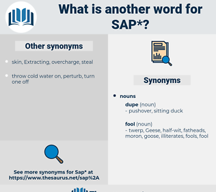 sap, synonym sap, another word for sap, words like sap, thesaurus sap