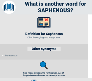 Saphenous, synonym Saphenous, another word for Saphenous, words like Saphenous, thesaurus Saphenous