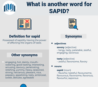 sapid, synonym sapid, another word for sapid, words like sapid, thesaurus sapid