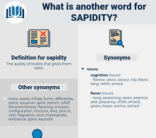 sapidity, synonym sapidity, another word for sapidity, words like sapidity, thesaurus sapidity