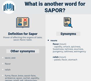 Sapor, synonym Sapor, another word for Sapor, words like Sapor, thesaurus Sapor