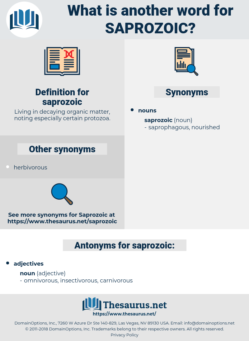 saprozoic, synonym saprozoic, another word for saprozoic, words like saprozoic, thesaurus saprozoic