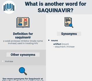 saquinavir, synonym saquinavir, another word for saquinavir, words like saquinavir, thesaurus saquinavir