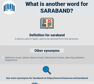 saraband, synonym saraband, another word for saraband, words like saraband, thesaurus saraband