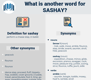 sashay, synonym sashay, another word for sashay, words like sashay, thesaurus sashay