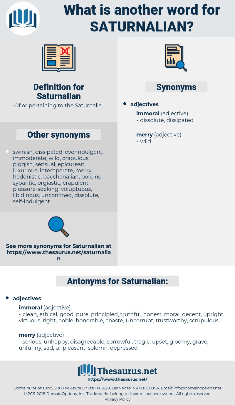 Saturnalian, synonym Saturnalian, another word for Saturnalian, words like Saturnalian, thesaurus Saturnalian