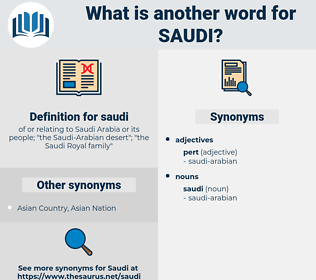saudi, synonym saudi, another word for saudi, words like saudi, thesaurus saudi