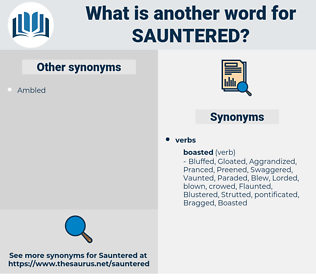 Sauntered, synonym Sauntered, another word for Sauntered, words like Sauntered, thesaurus Sauntered