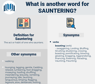 Sauntering, synonym Sauntering, another word for Sauntering, words like Sauntering, thesaurus Sauntering