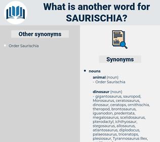 saurischia, synonym saurischia, another word for saurischia, words like saurischia, thesaurus saurischia