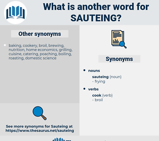 sauteing, synonym sauteing, another word for sauteing, words like sauteing, thesaurus sauteing