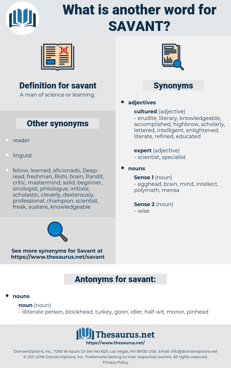 savant, synonym savant, another word for savant, words like savant, thesaurus savant