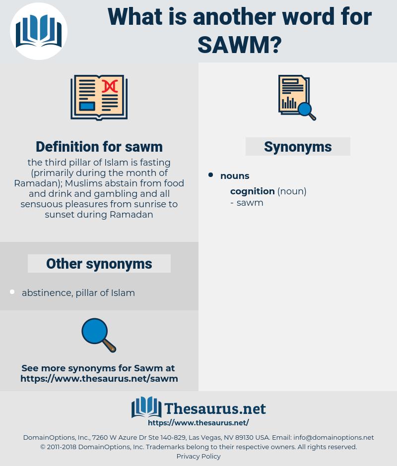 sawm, synonym sawm, another word for sawm, words like sawm, thesaurus sawm