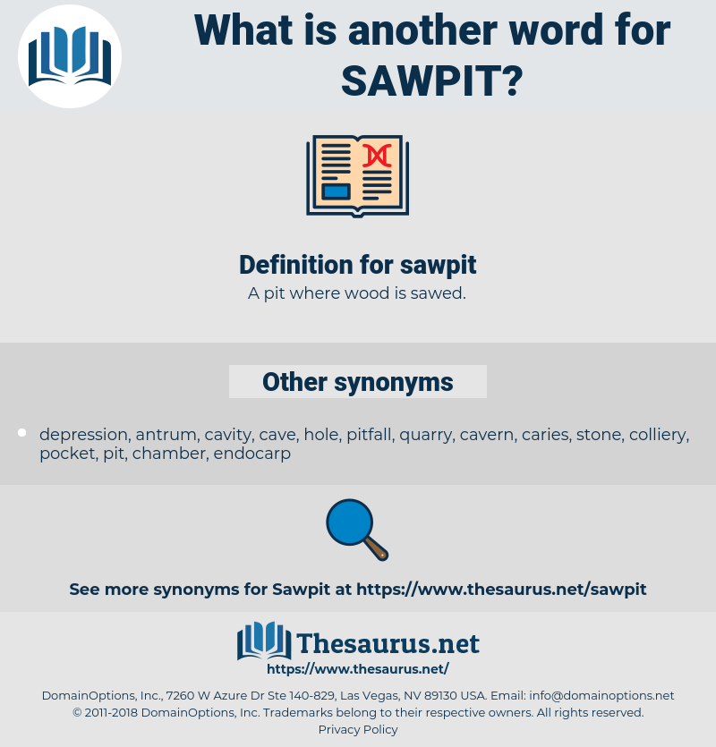 sawpit, synonym sawpit, another word for sawpit, words like sawpit, thesaurus sawpit